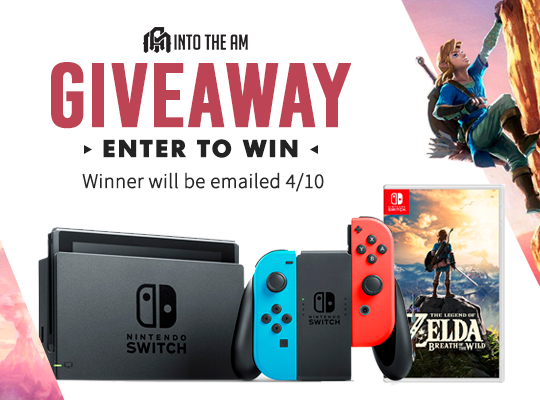 nintendo switch free giveaway win nintendo switch console with game giveaway best free 9900